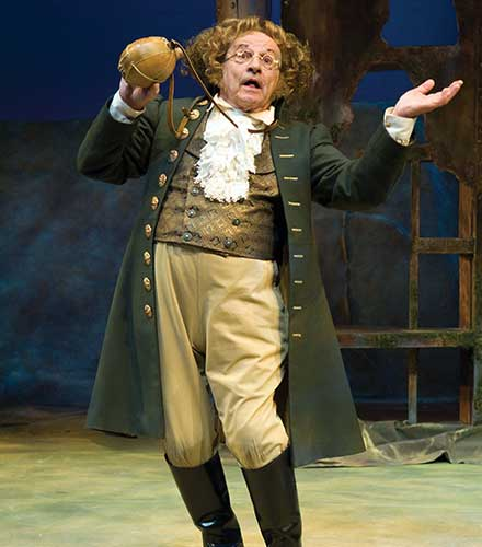 As Stephano in  The Tempest,  2007