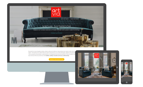 ArtVia Interior Design |  See website >