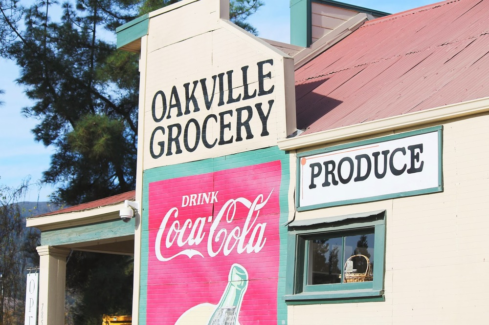 Oakville Grocery - another great lunch stop.