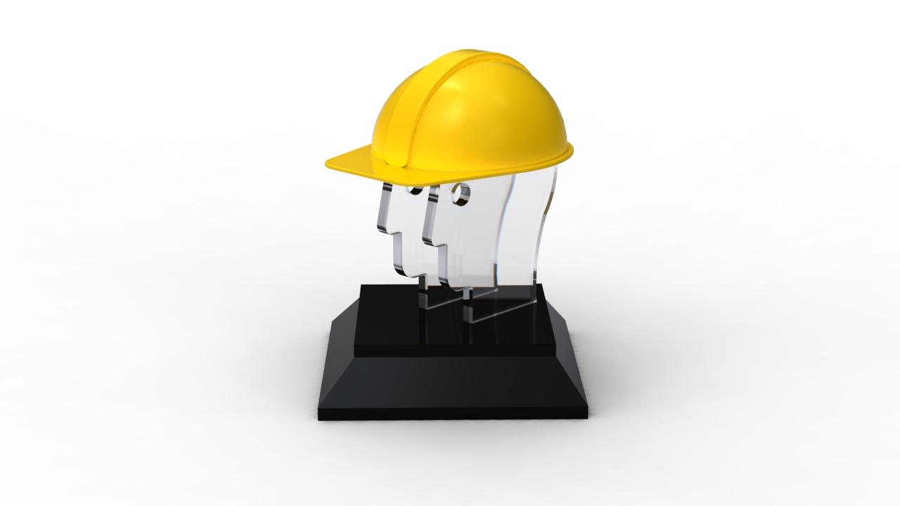 The Golden Helmet Award Trophy Design Nayaab Lokhandwala
