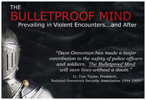 Lt Col. Dave Grossman (ret) will bring his well-known message The BulletProof Mind!