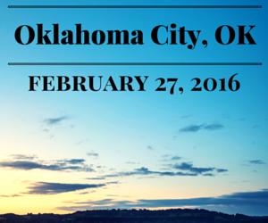 FEBRUARY 27 - OKLAHOMA CITY, OK. CLICK HERE FOR INFO.