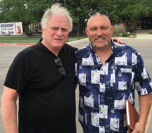 Pastor Frank Pomeroy (right, with Jimmy Meeks) will also be with us at this seminar. Pastor Frank serves at First Baptist Church in Sutherland Springs, Texas; where last November an angry gunman entered and shot and killed 26 worshipers (and injured 20 more).