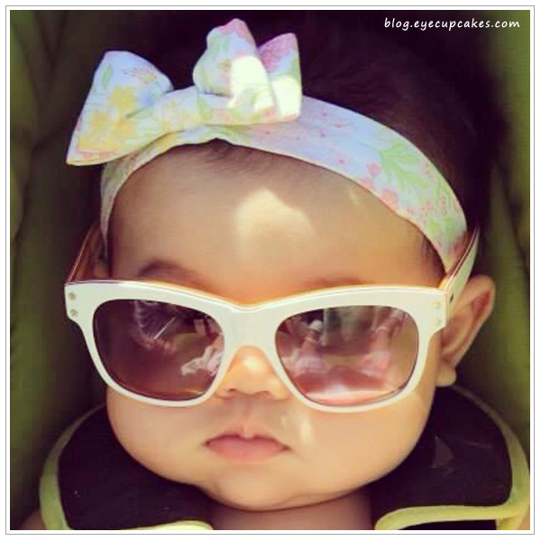 Sunglasses designed specifically for small children. ZEISS lenses for kids. Available on www.eyecupcakes.com!!