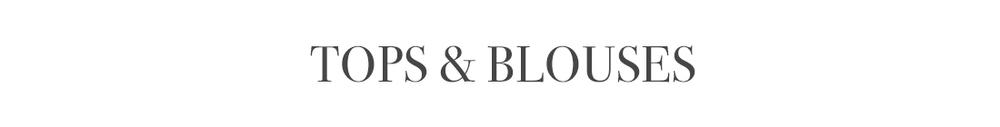 JIBRI Tops & Blouses