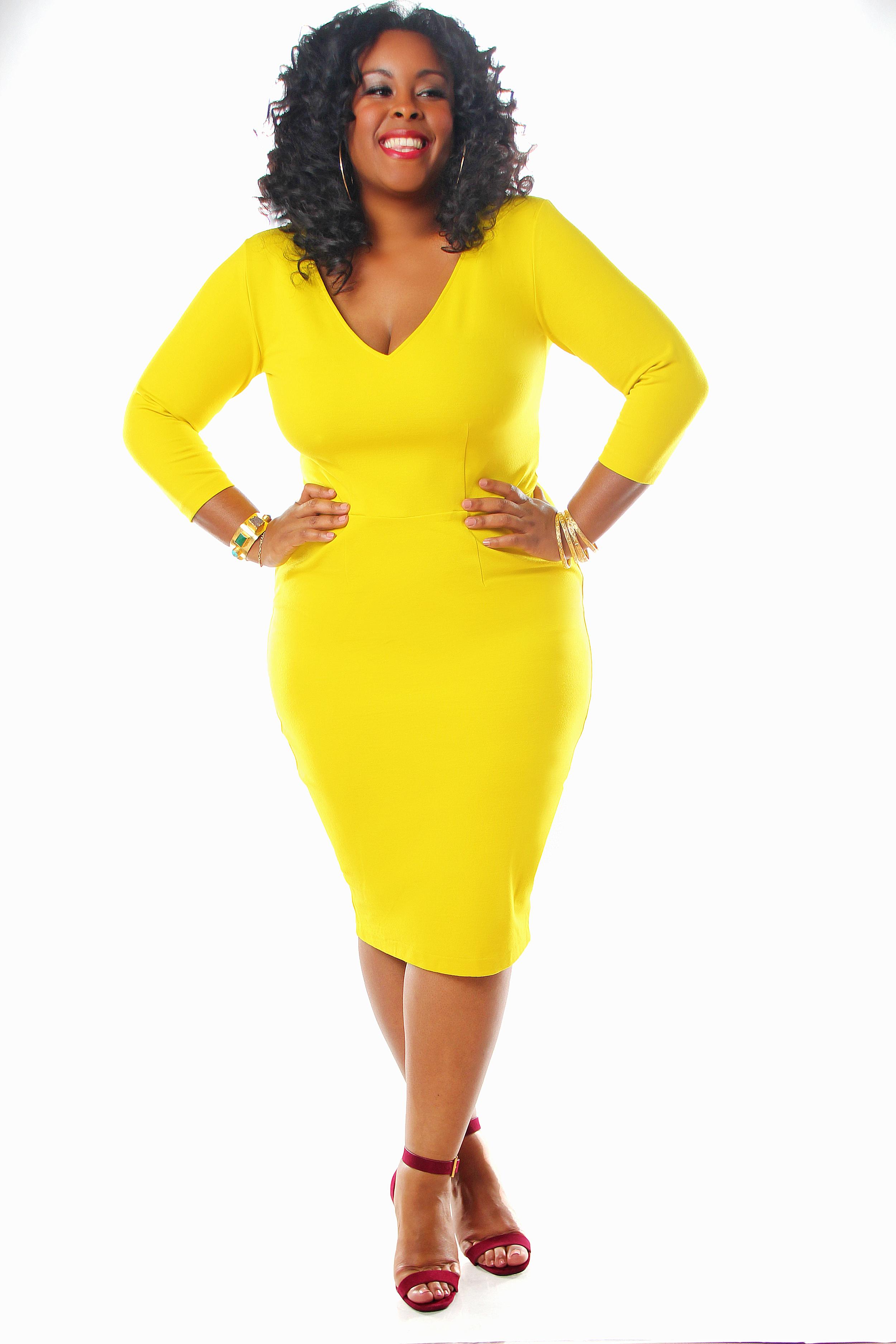 yellow dress 2016 mock