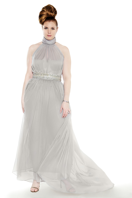 JIBRI Grecian Bridal Gown — JIBRI