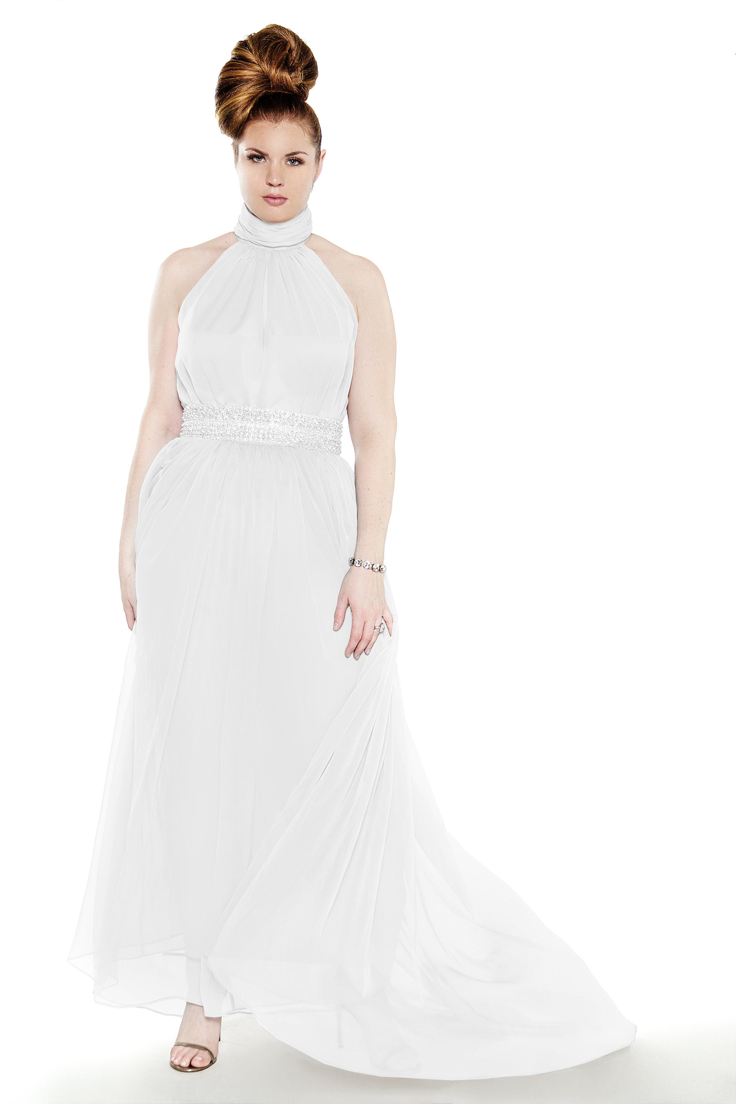 8766978bea JIBRI Grecian Bridal Gown — JIBRI