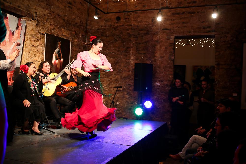 flamenco a pulso