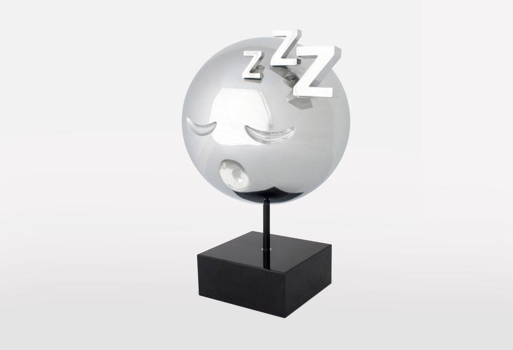 Sleeping Emoji Stainless Steel