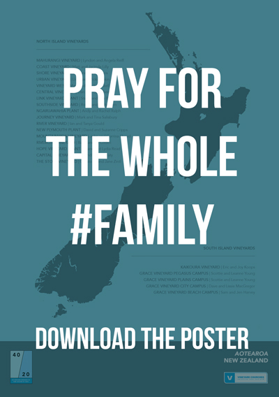Please join us in keeping the whole Vineyard Churches of Aotearoa NZ family  held in prayer. f5cdf711e