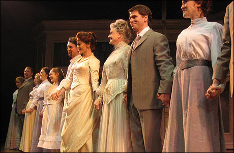 Opening night curtain call.