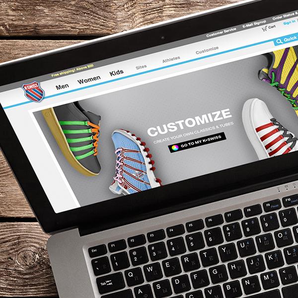 K-Swiss: Website | Microsite | Email Marketing