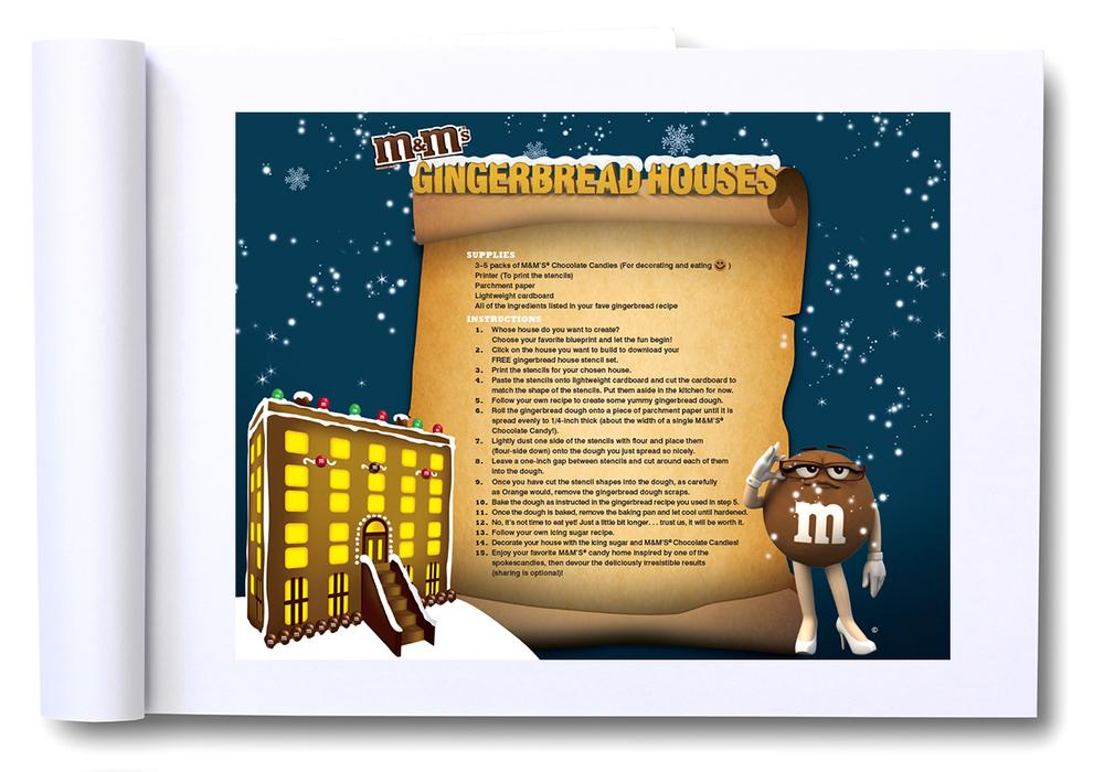M M Gingerbread House Designs Fpr302