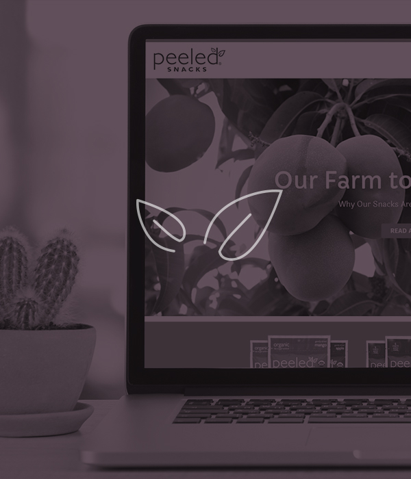 Peeled Snacks: Website | Rebranding