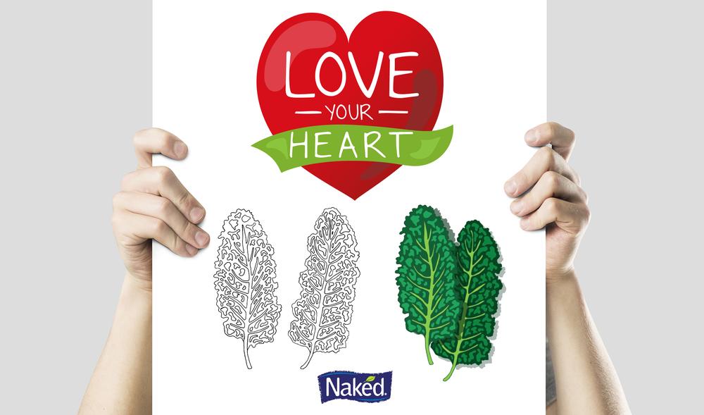 Naked Juice: Infographic | Illustration