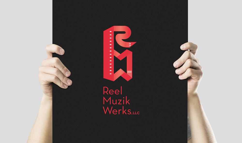 Reel Muzik Werks: Logo Design