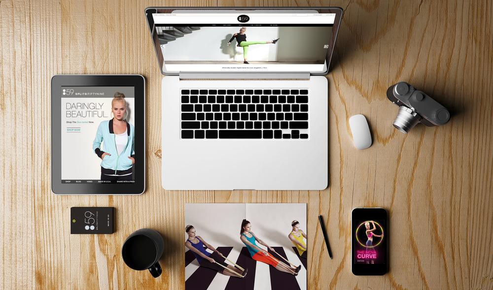 Splits59: Website | Branding | Email Marketing | Print