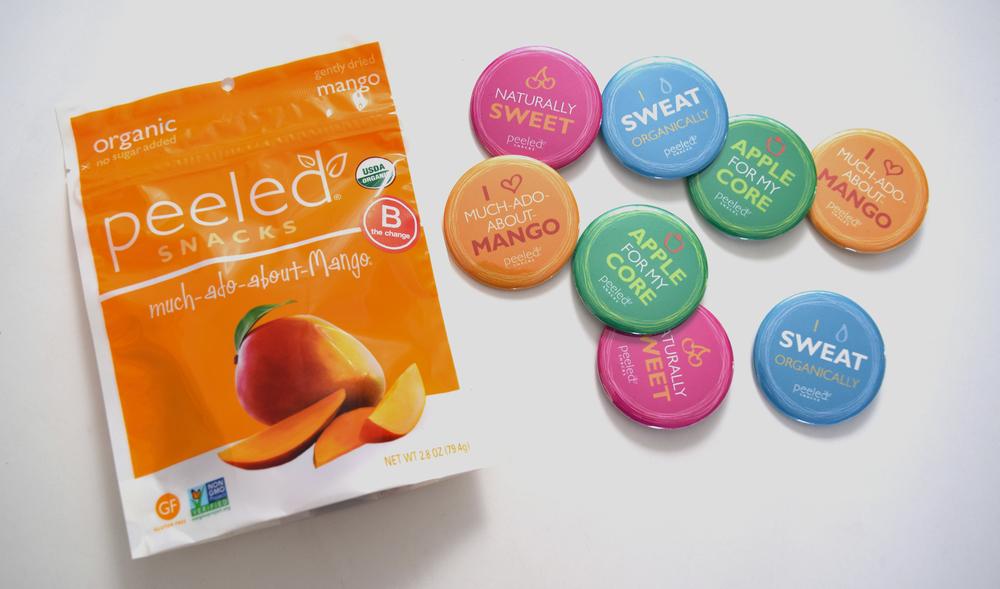 Peeled Snacks: Pins