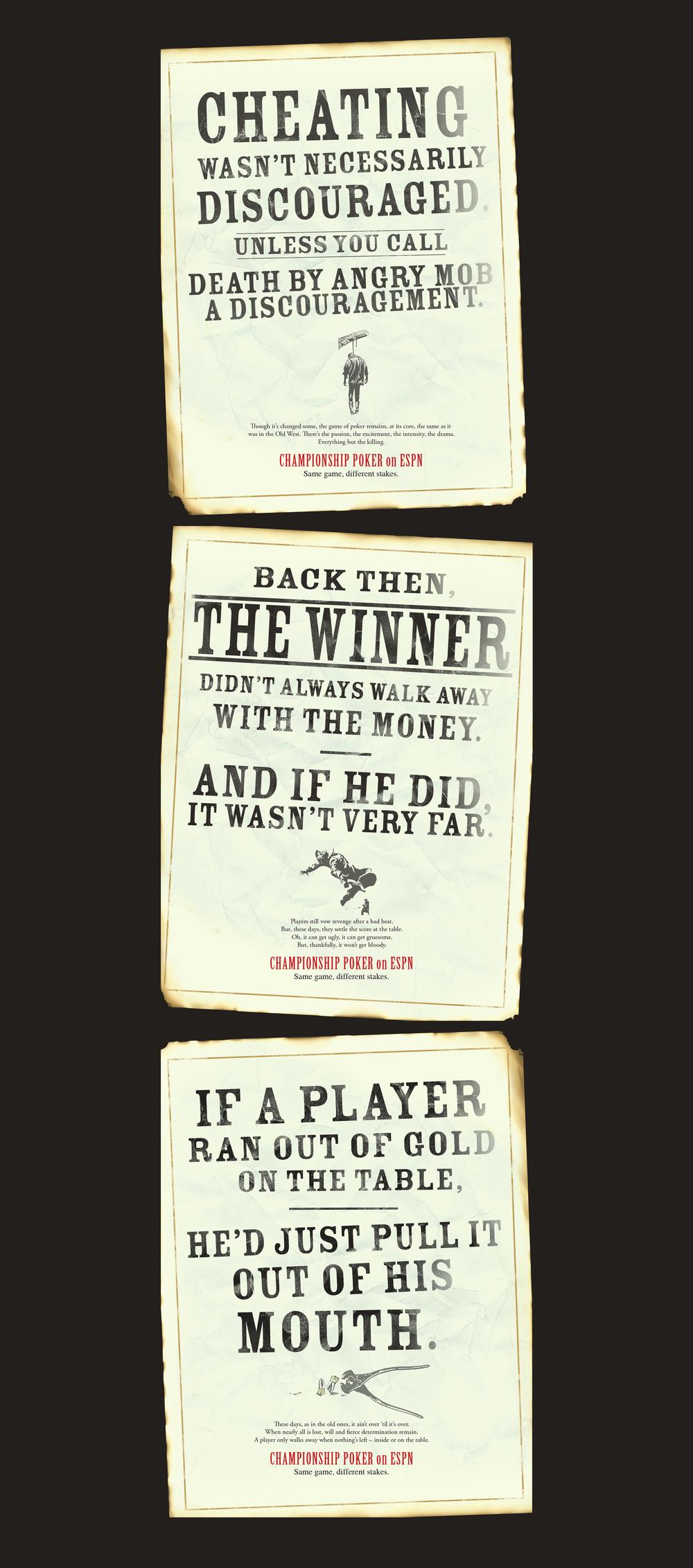 ESPN: Championship Poker Ads