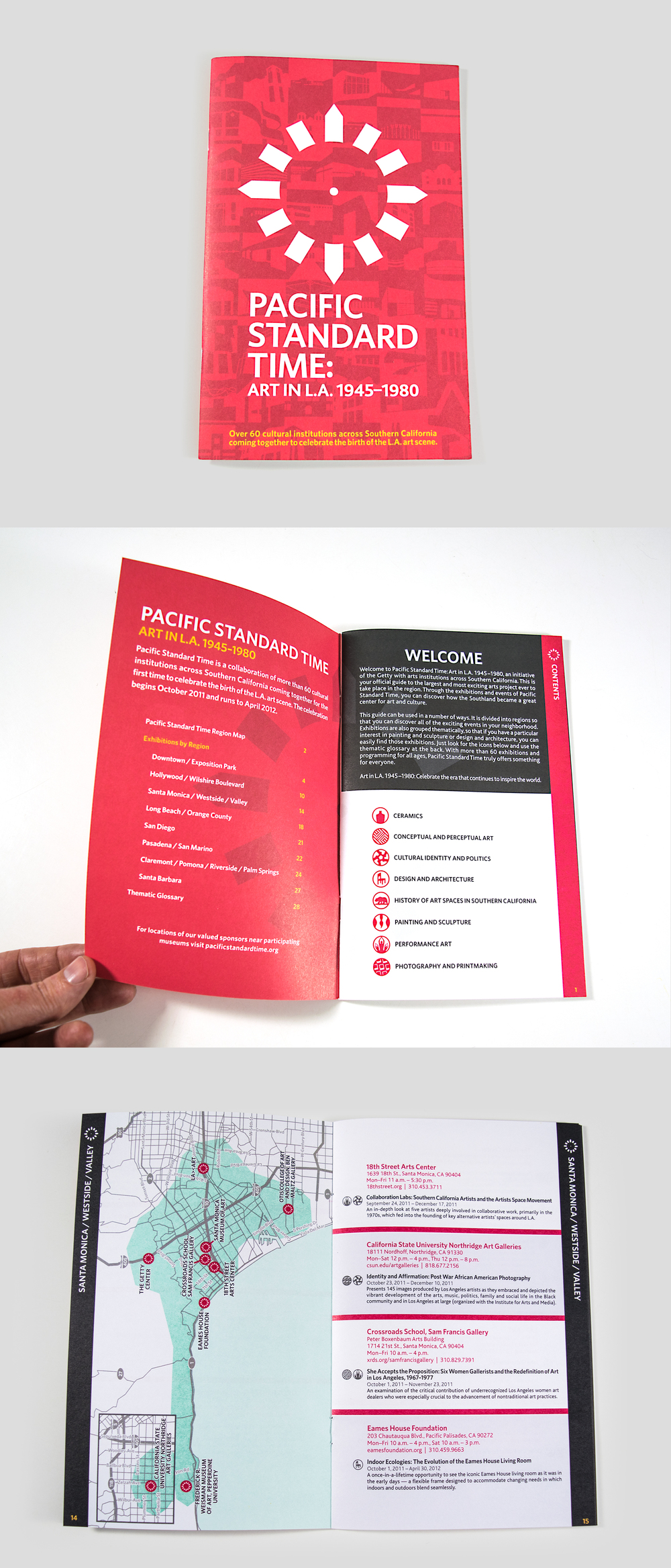 Pacific Standard Time Booklet: Layout | Production