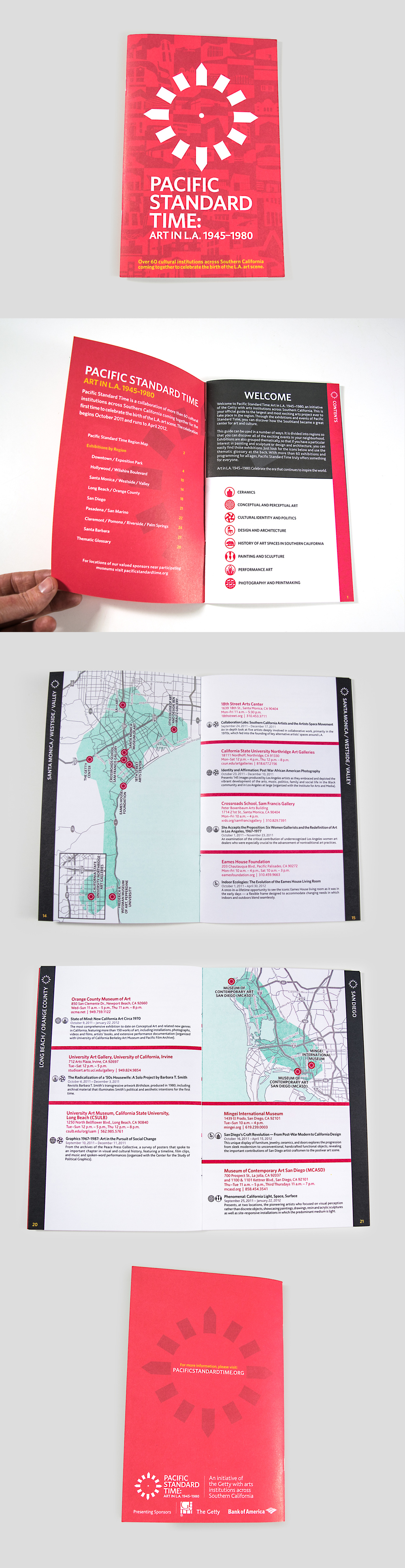 Pacific Standard Time Guide Book: Layout | Production