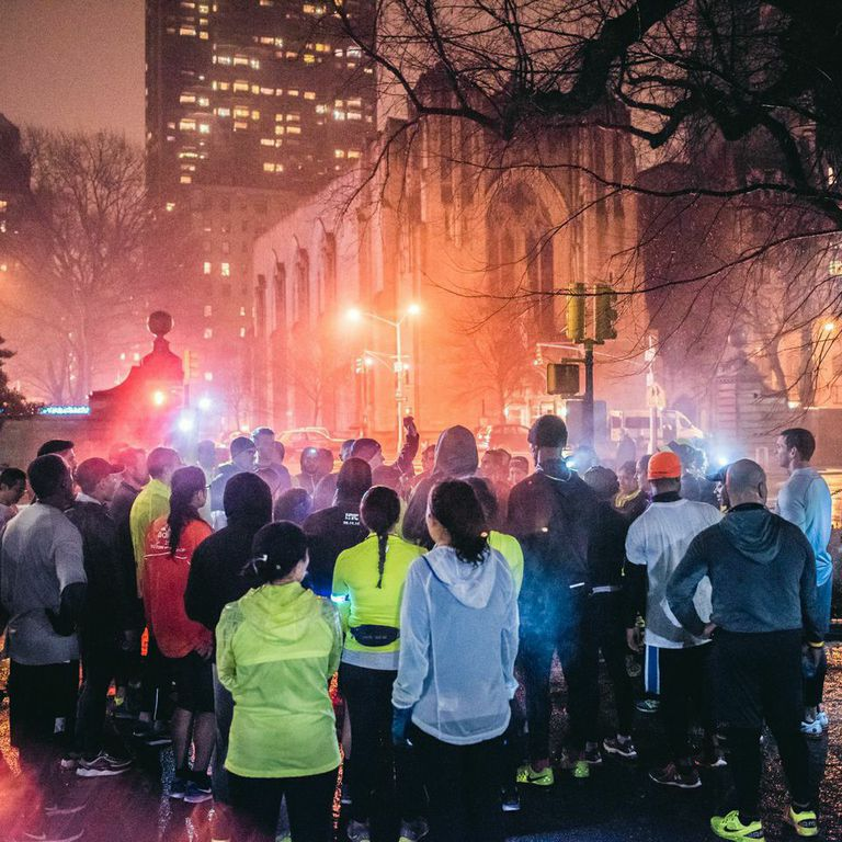 NIKE + NYC is great for running with groups.