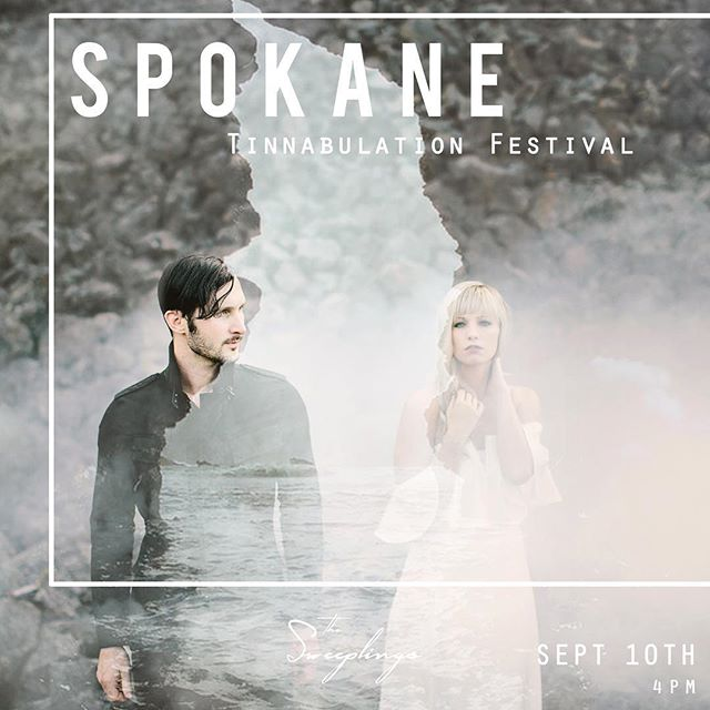 Spokane! You have an opportunity to see us twice in the next month. We are so thrilled to be a part of the AMAZING festival @tinnfest. Go check out the lineup for this. You won't be disappointed.