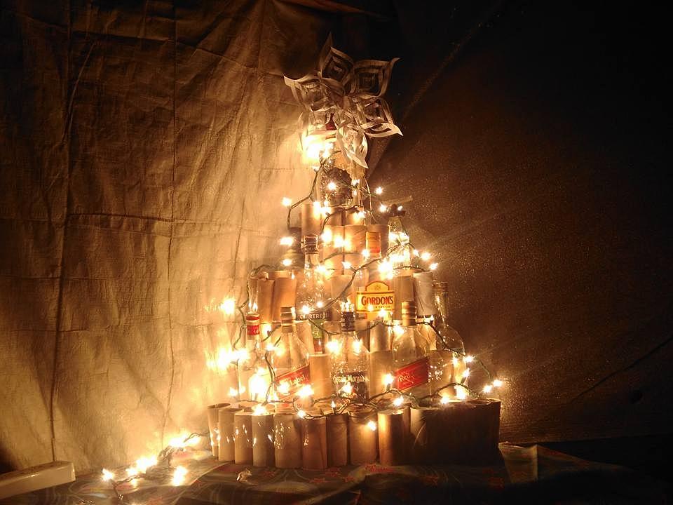 Aid Worker Christmas Tree.
