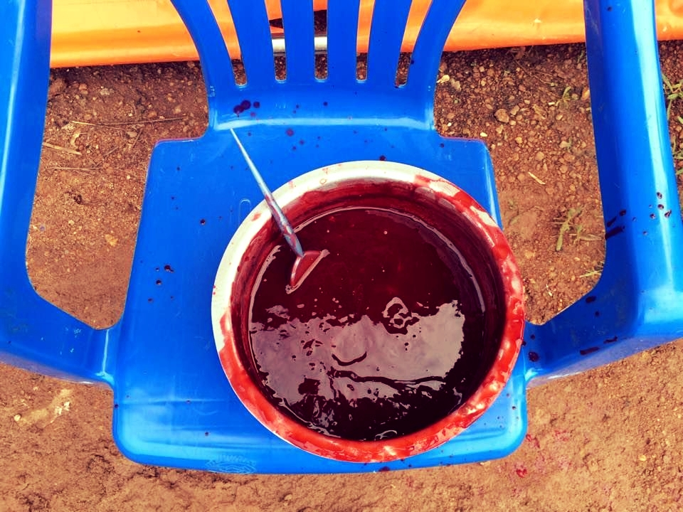 There's nothing like a good ol' batch fake blood.