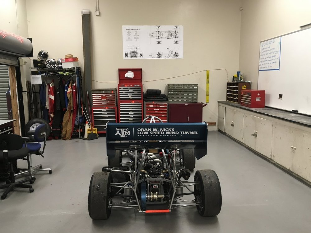 2016 competition car