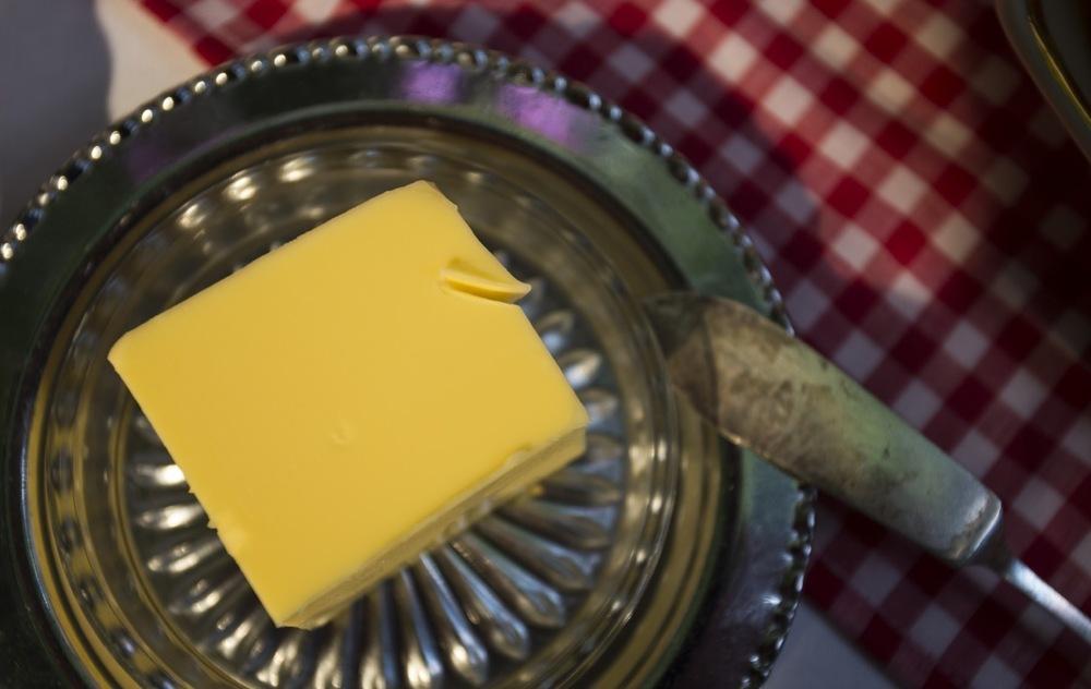 Butter....
