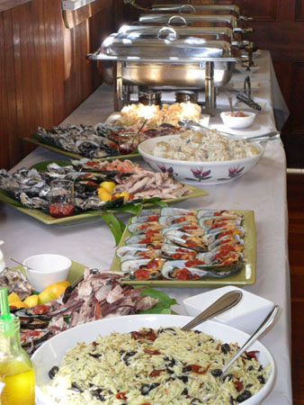 Simple Wedding Buffet
