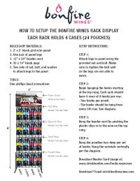 Download Rack Setup Instructions