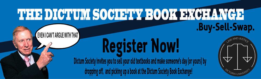 DictumSocietyBookExchangeBanner