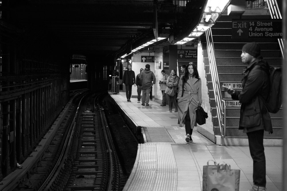 We may be travelling together, but we are all on our own journey The New York Chronicles 4.9 14th Street - Union Square Subway Station New York, NY, USA November 2015