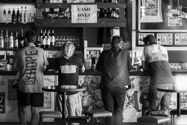 Bar Flies The Esplanade Hotel St Kilda Melbourne Victoria Australia October 2014