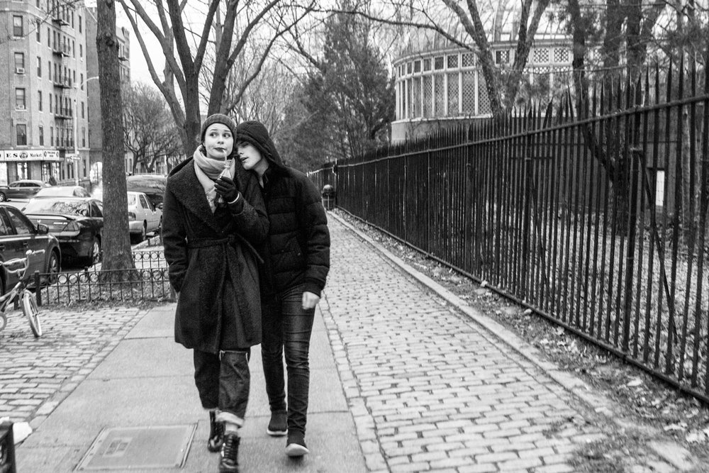 He ain't heavy, he's my brother The New York Chronicles 36.5 Washington Avenue Brooklyn, NY, USA December 2015