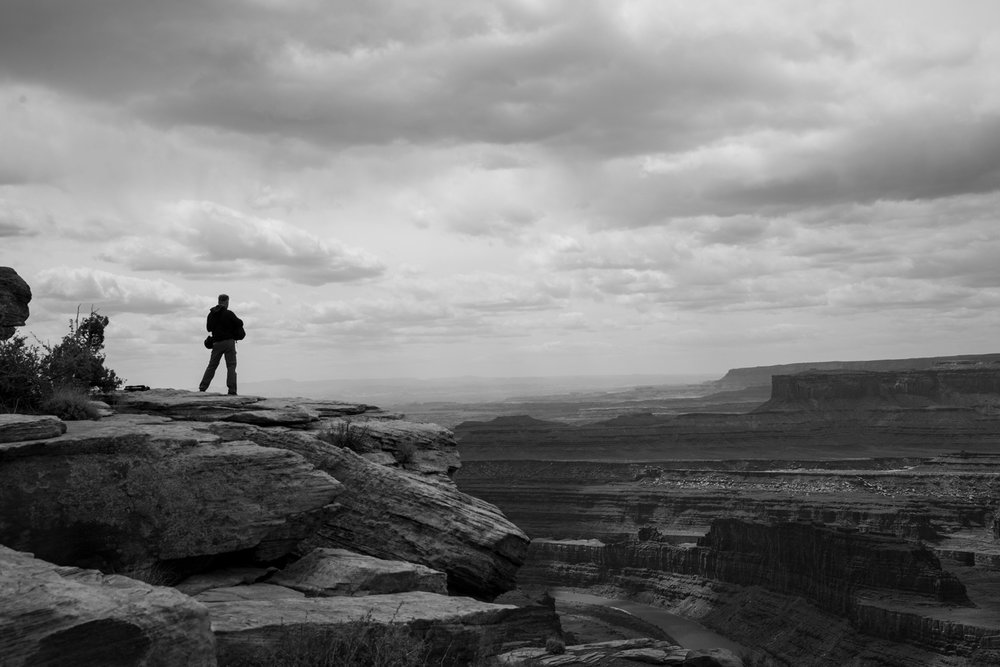 For a moment there was nothing else and this was everything Dead Horse Point State Park Moab  Utah  USA May 2018