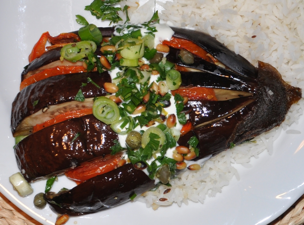 Baked Sicillian Eggplant from Dish magazine #59
