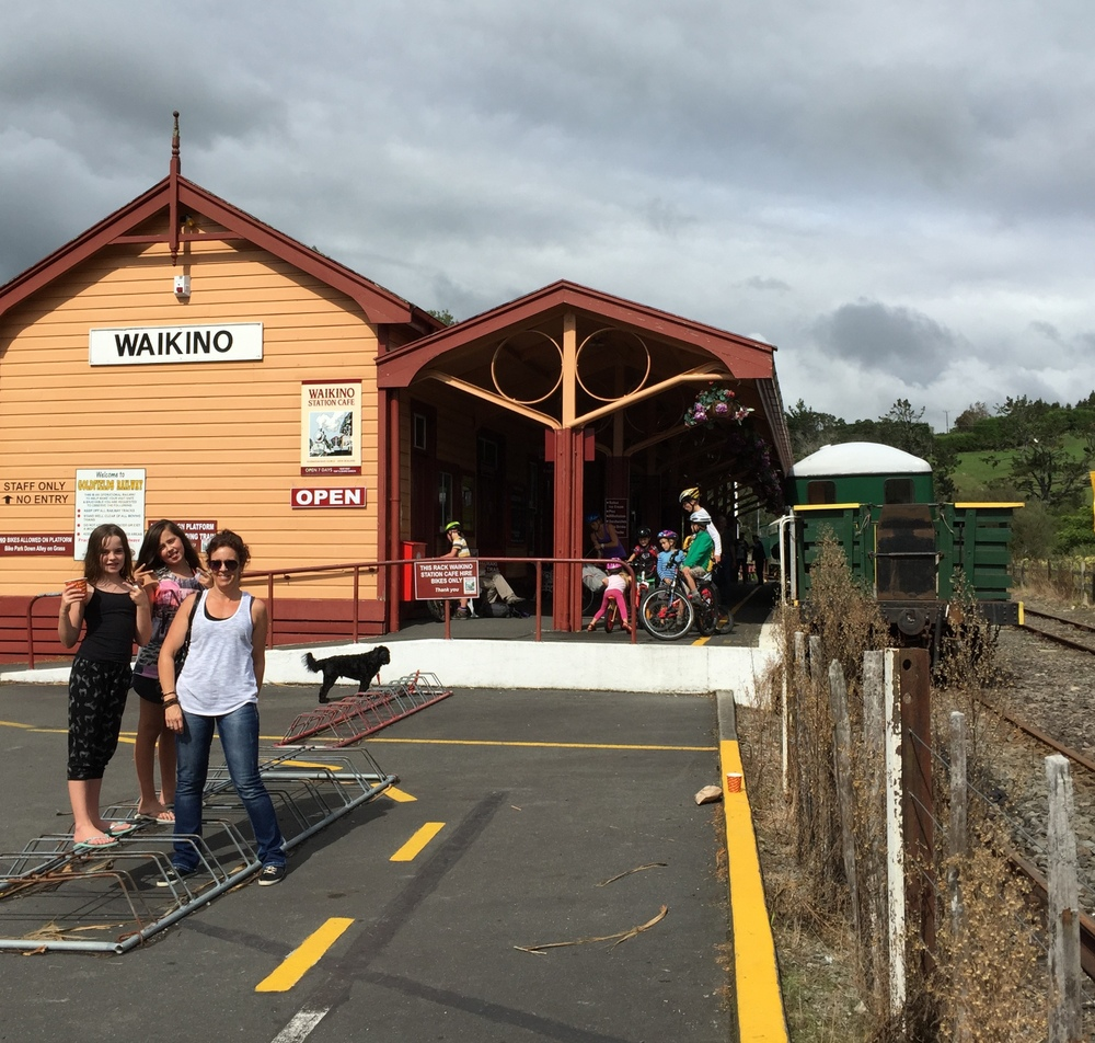 Lunch stop - Waikino Station Cafe