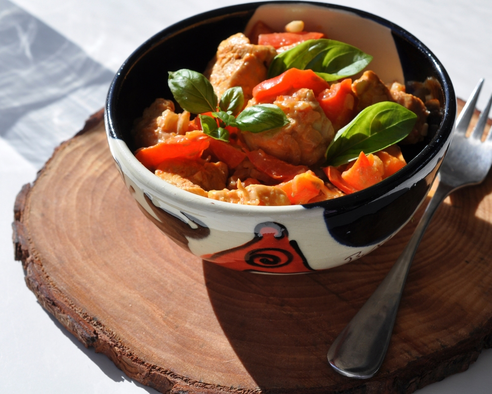 Aromatics chicken curry
