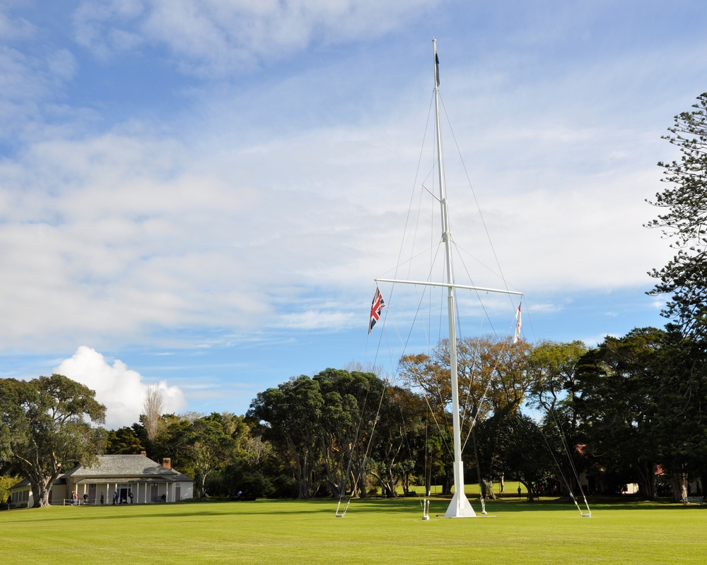 Waitangi Treaty Grounds  - June 2012