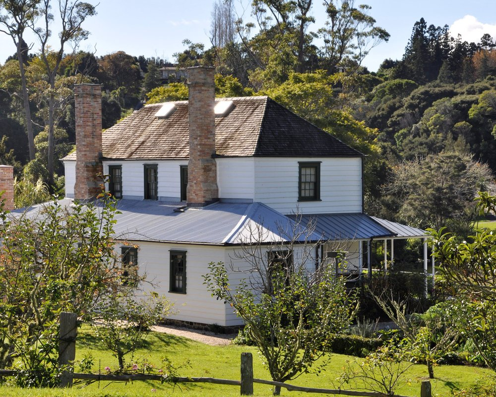 Kemp House, Kerikeri - New Zealand's oldest building  - June 2012