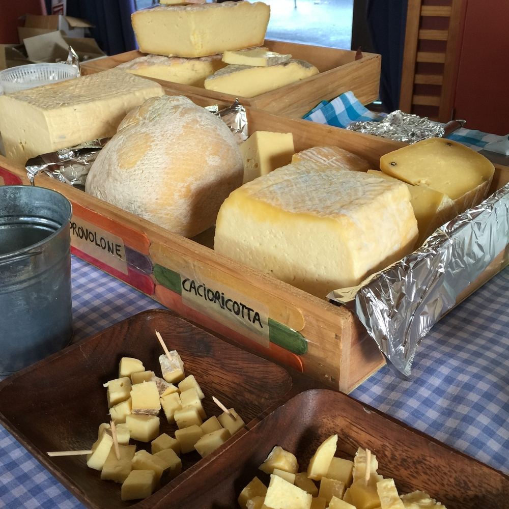 Handmade Italian style cheeses from Il Casaro