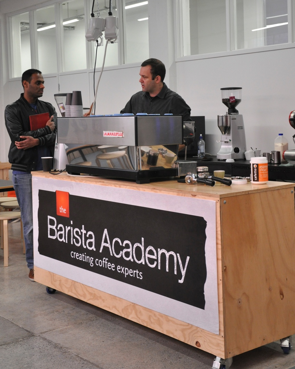 Creating coffee experts - hands on courses from The Barista Academy
