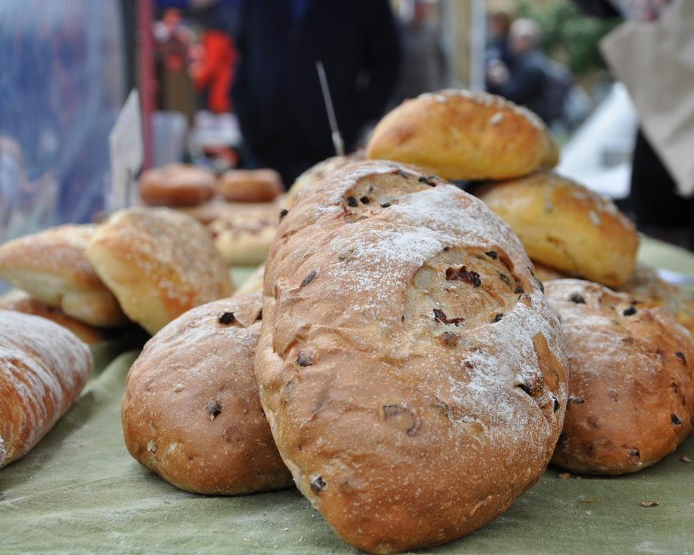 Artisan bread from Pukeko Bakery