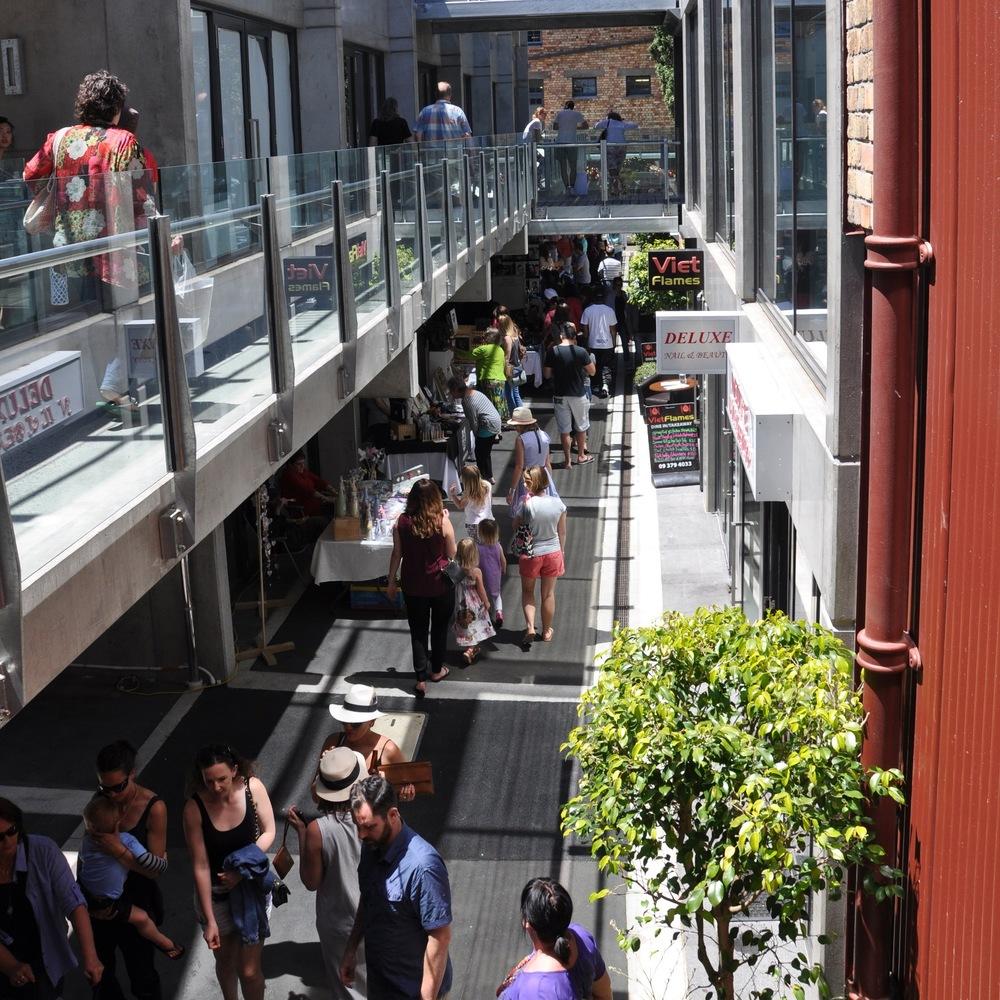 Vic Park Market laneway 3