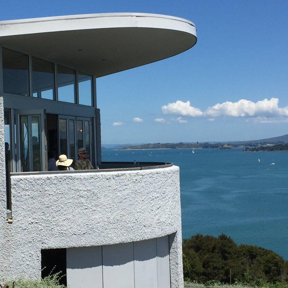 Te Whau's verandah