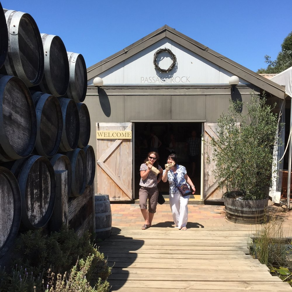 Friends at Passage Rock Wines Cellar Door